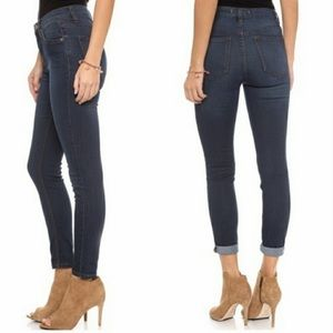 Free People High Rise Skinny Jeans Size 27